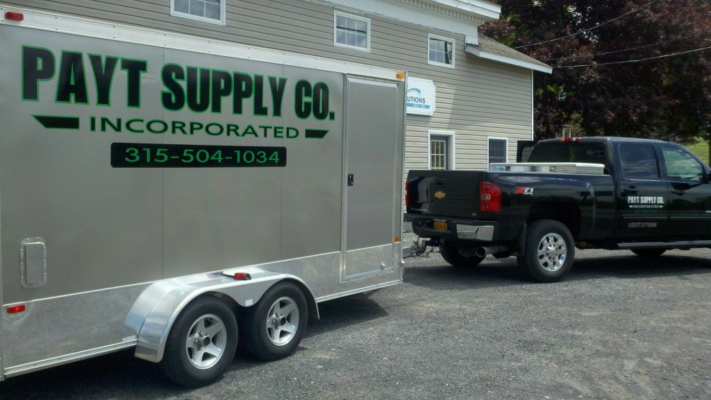 Payt Supply Co. Delivery